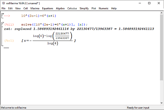4 Free Exponential Equation Calculator Software For Windows
