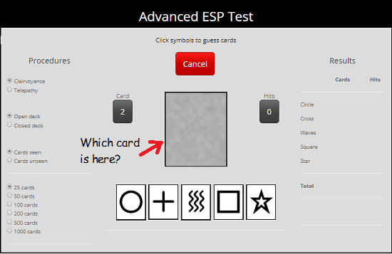 Advanced ESp test online free