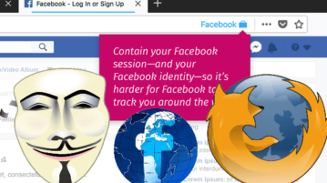 Block Facebook Tracking In Firefox Using Facebook In Separate Container