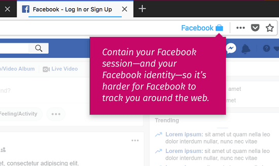 How to Block Facebook Tracking In Firefox Using Facebook In Separate Container