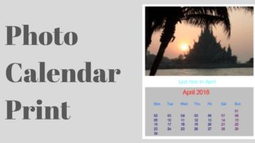 Photo Calendar Maker Software Free