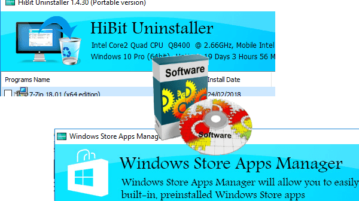 Program and Store Apps Uninstaller Software for Windows 10