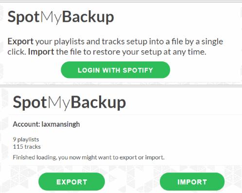 SpotMyBackup