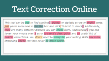 5 Online Text Correction Websites Free