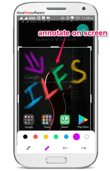 screenshot editing tool