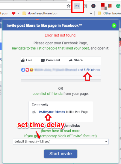 How To Invite People Who Liked A Post To Like Your Facebook Page