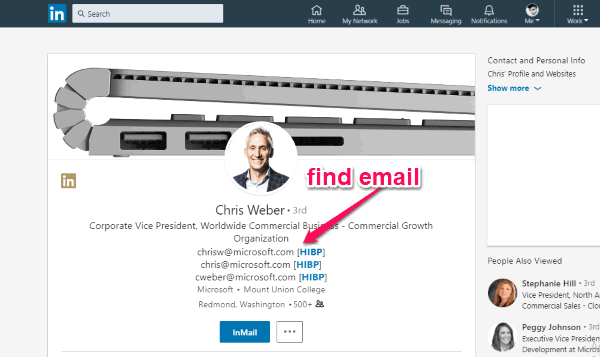 5 Free LinkedIn Email Finder for Chrome