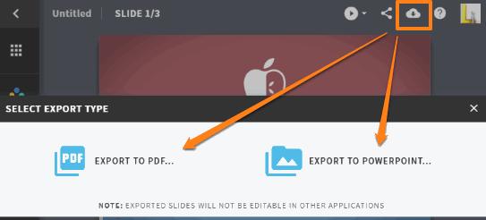 export presentation