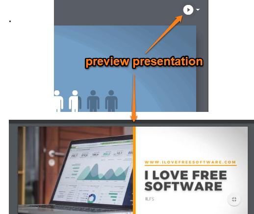 preview presentation