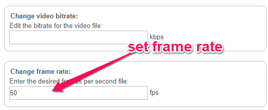 4 Video Frame Rate Changer Online Free