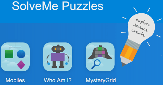 solveme puzzles homepage