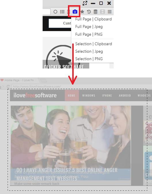 sushi browser screenshots
