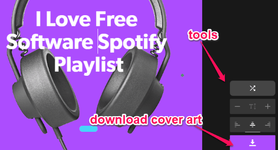 Free Website to Create Cover Art for Spotify Playlists