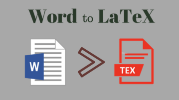 Convert Word To LaTeX Online With These Free Websites