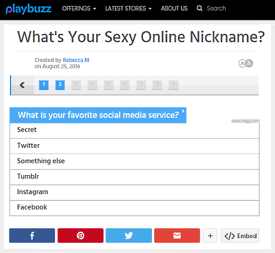 username generator based on personality