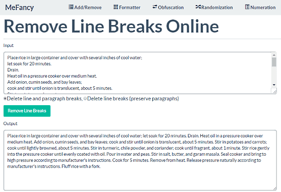 10 Free Websites To Remove Line Breaks Online