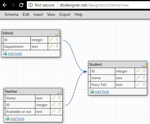 5 Online Database Diagram Tool To Create  Design Database Schema Free