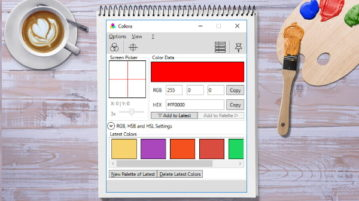 Free Color Converter Software with Color Picker and Color Palette Maker