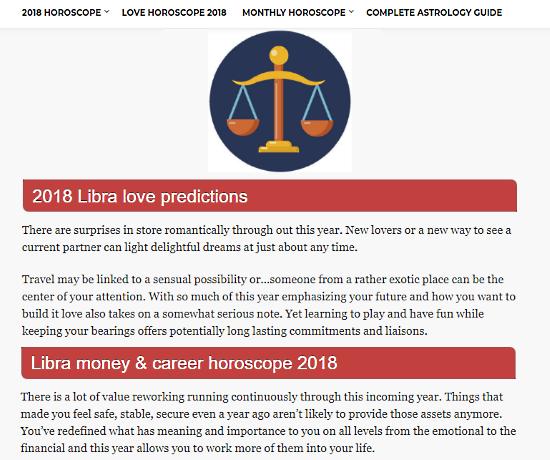 online zodiac predictions