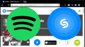 Play Shazams in Spotify from Browser