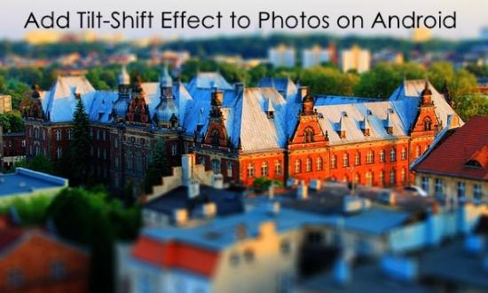 add tilt-shift effect