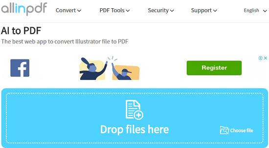 allinPDF free AI to PDF conversion