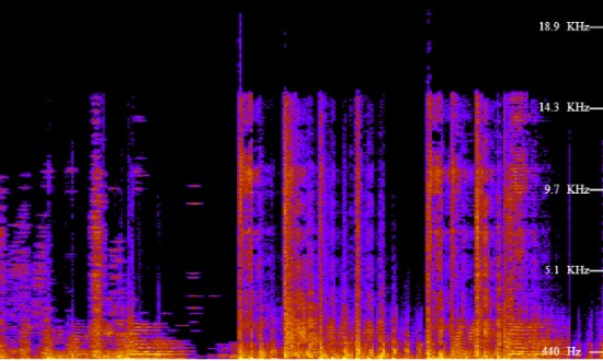 audio spectrogram