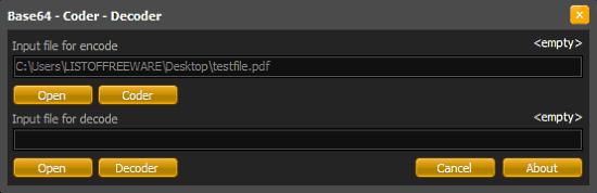 Convert PDF to Base64