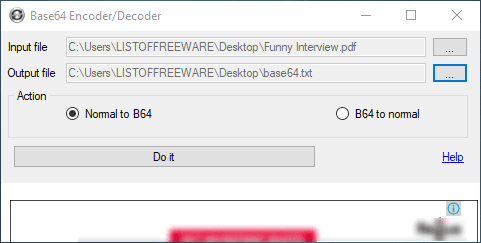 PDF To Base64 Converter Software For Windows