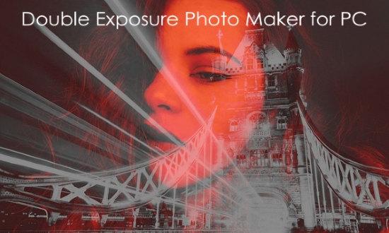 double exposure photo maker