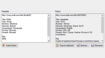 Free Tool To Generate Movie Catalog Using IMDb Data