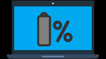 get alert when laptop battery is fully charged
