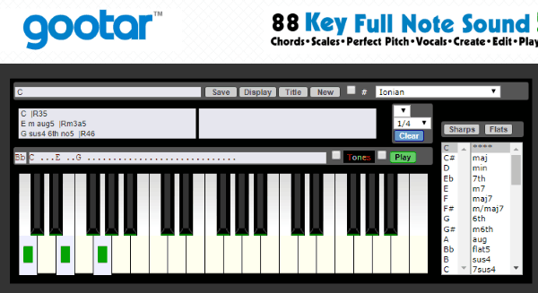 5 Free Online Reverse Piano Chord Finder
