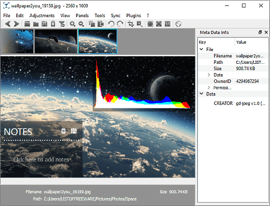 nomacs Open Source Image Viewer