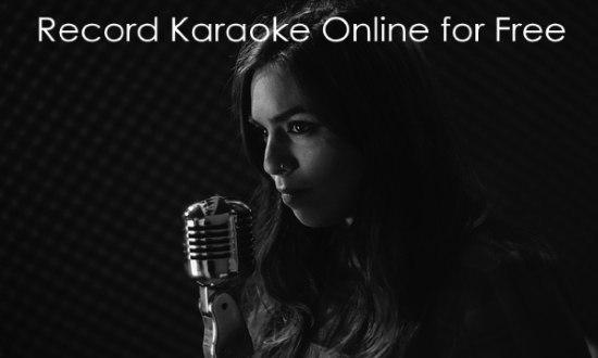 record karaoke online