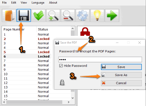 save output pdf