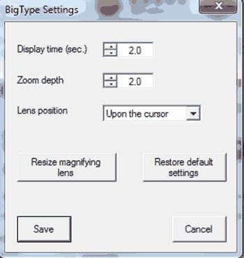setup window