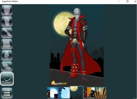 create your own superhero online free