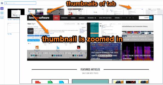 tab thumbnails visible