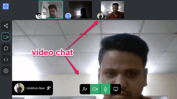 Free Online Private Video Chat With Code Editor Chat