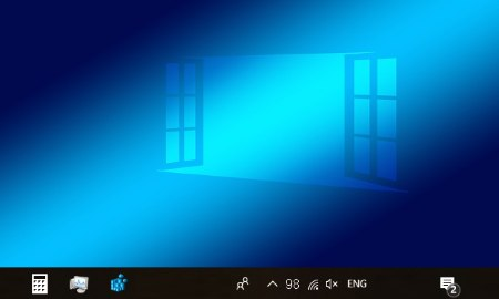 view battery percentage in taskbar of windows 10