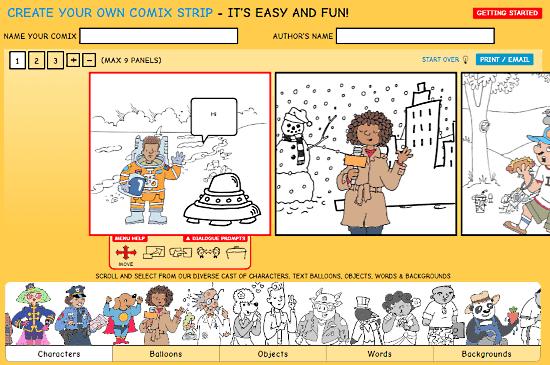 comic generator for kids