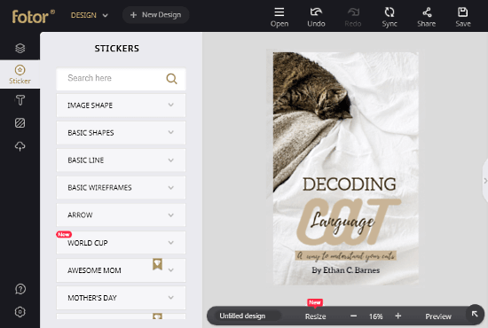 online ebook cover design