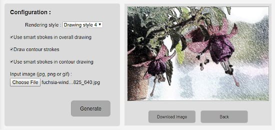 photo to drawing online