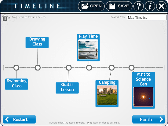 timeline maker for kids