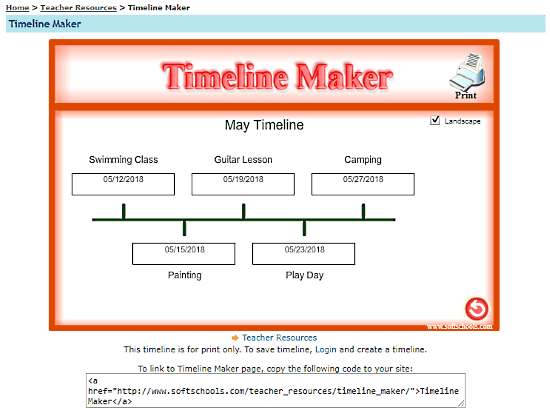 online timeline maker for kids