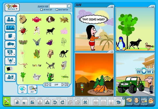 free comic creator for students