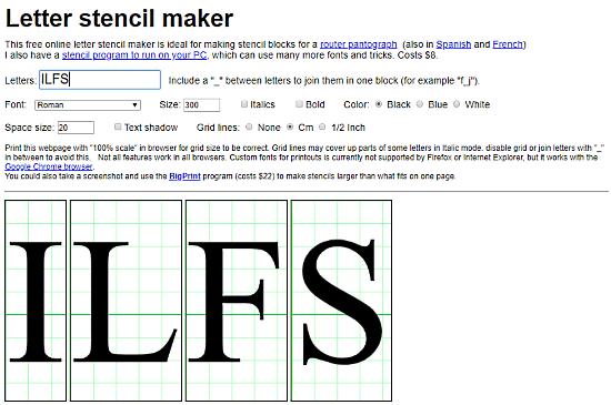 free online stencil maker