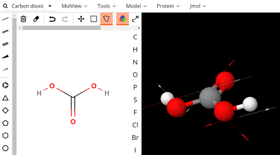 Online Tool to See, Design 3D Structure of Molecular Compounds