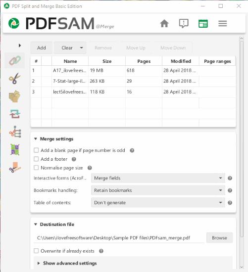 PDFsam Basic